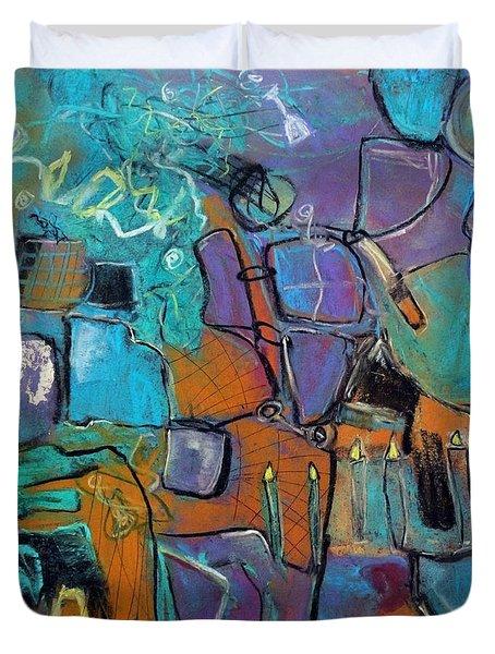Celebration Duvet Cover by Katie Black