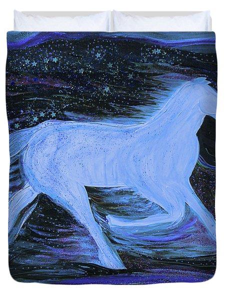 Celestial by jrr Duvet Cover by First Star Art