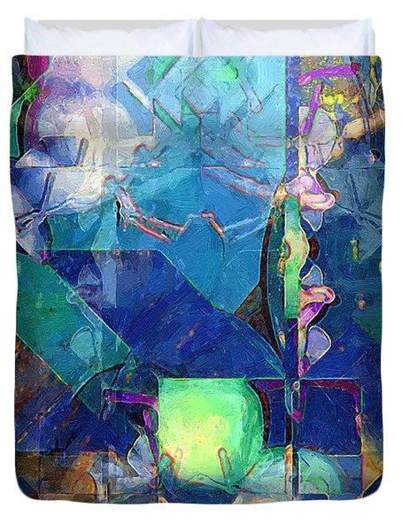 Celestial Sea Duvet Cover by RC DeWinter
