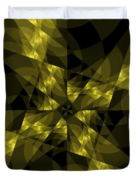 Center Square Duvet Cover by Elizabeth McTaggart