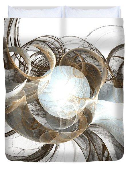Central Core Duvet Cover by Anastasiya Malakhova