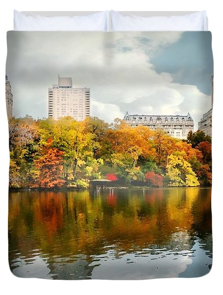 Central Park #1 Duvet Cover by Diana Angstadt