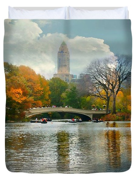 Central Park #6 Duvet Cover by Diana Angstadt