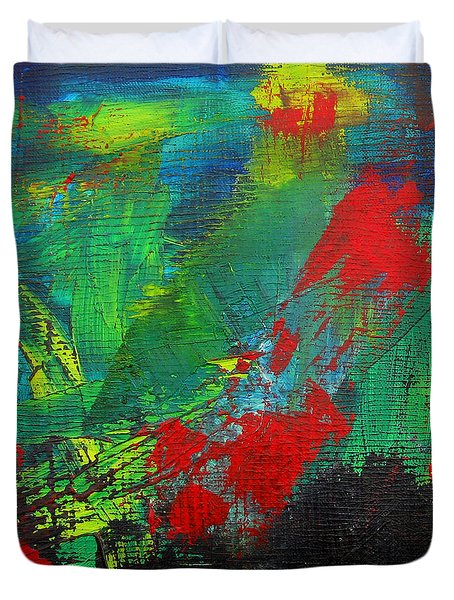 Chaotic Hope Duvet Cover by Patricia Awapara