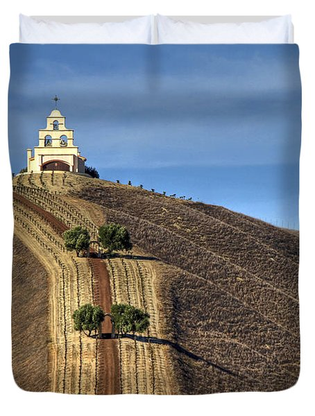 Chapel Hill Duvet Cover by Donna Kennedy