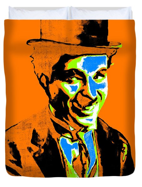 Charlie Chaplin 20130212p28 Duvet Cover by Wingsdomain Art and Photography