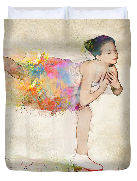 Chase Your Dreams Duvet Cover by Nikki Smith