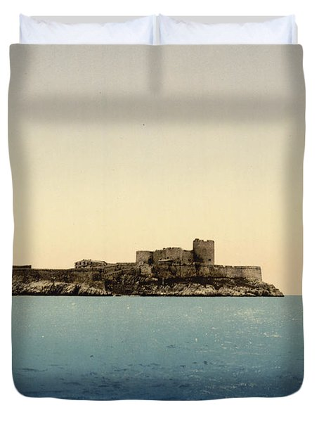 Chateau D'if Duvet Cover by Nomad Art And  Design