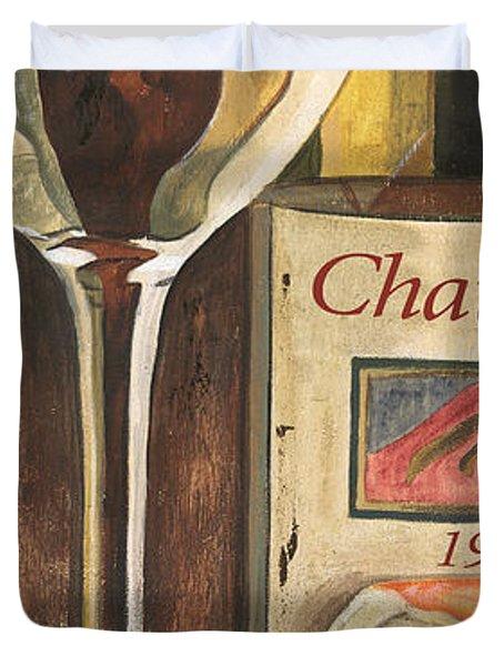 Chateux 1965 Duvet Cover by Debbie DeWitt