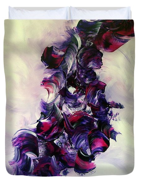 Cherry Rock'n Roll Duvet Cover by Isabelle Vobmann