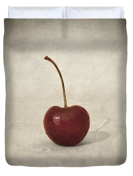 Cherry Duvet Cover by Taylan Soyturk