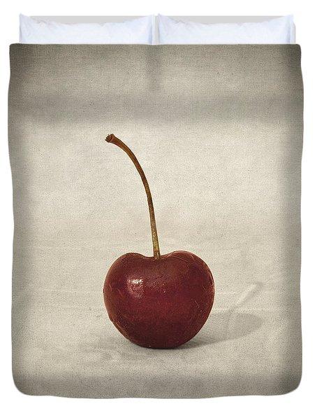 Cherry Duvet Cover by Taylan Soyturk