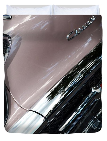 Chevy Duvet Cover by Michelle Calkins