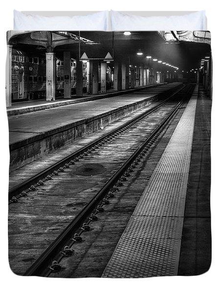 Chicago Union Station Duvet Cover by Scott Norris