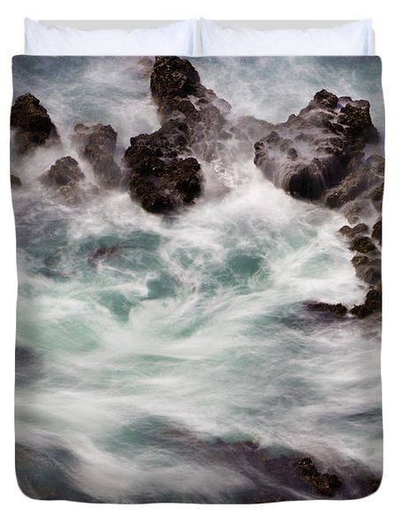 Chimerical Ocean Duvet Cover by Heidi Smith