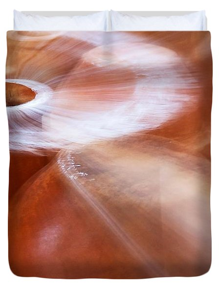 Chimineas #2 Duvet Cover by Stuart Litoff