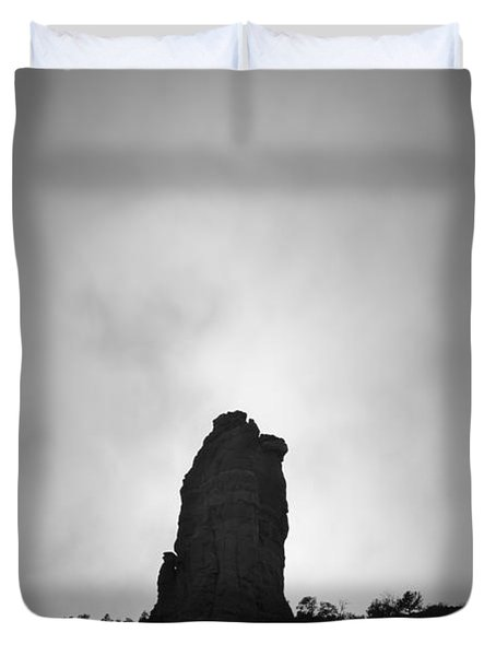 Chimney Rock IIi Duvet Cover by David Gordon