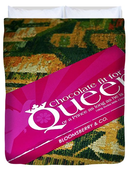 Chocolate fit for a Queen Duvet Cover by Kaye Menner
