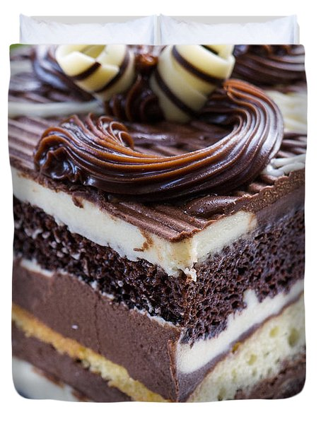 Chocolate Temptation Duvet Cover by Edward Fielding