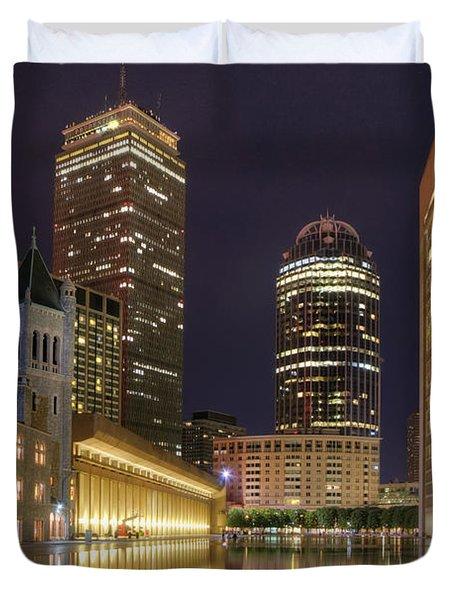 Christian Science Center-boston Duvet Cover by Joann Vitali