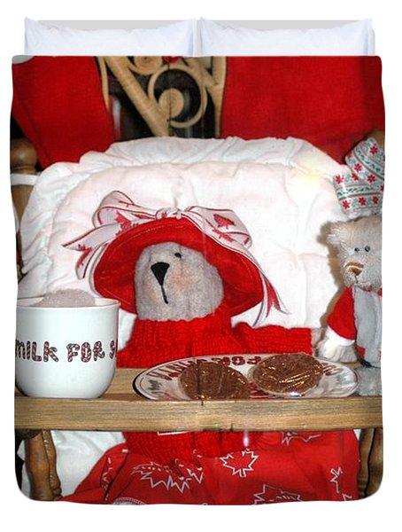 Christmas Delights Duvet Cover by Kathleen Struckle