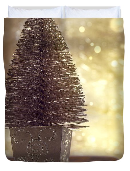 Christmas Tree Duvet Cover by Amanda And Christopher Elwell