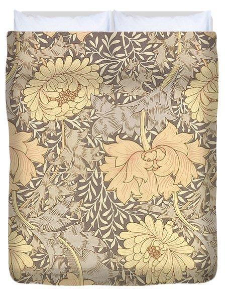 Chrysanthemum Duvet Cover by William Morris