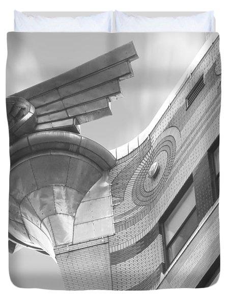 Chrysler Building 4 Duvet Cover by Mike McGlothlen