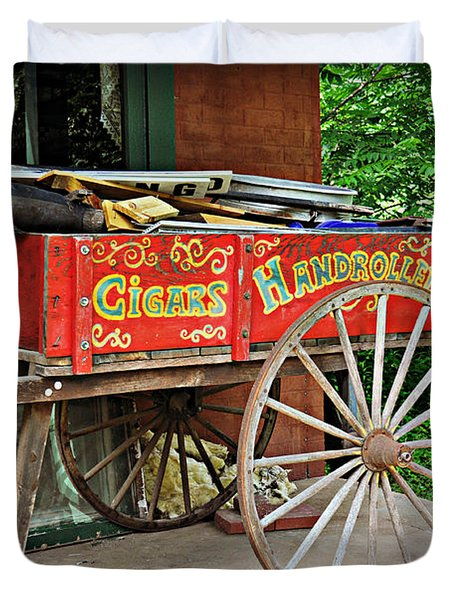 Cigar Wagon Duvet Cover by Marty Koch