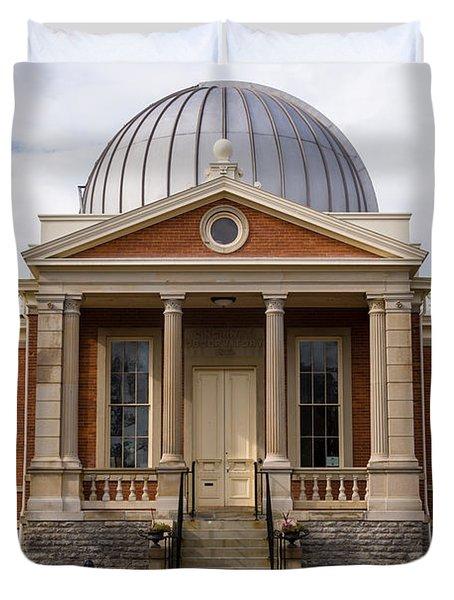Cincinnati Observatory in Cincinnati Ohio Duvet Cover by Paul Velgos