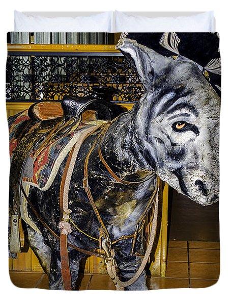 Cinco De Mayo Duvet Cover by LeeAnn McLaneGoetz McLaneGoetzStudioLLCcom