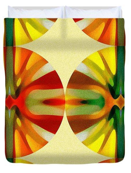 Circle Pattern 3 Duvet Cover by Amy Vangsgard