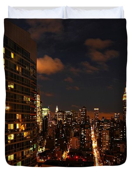 City Living Duvet Cover by Andrew Paranavitana