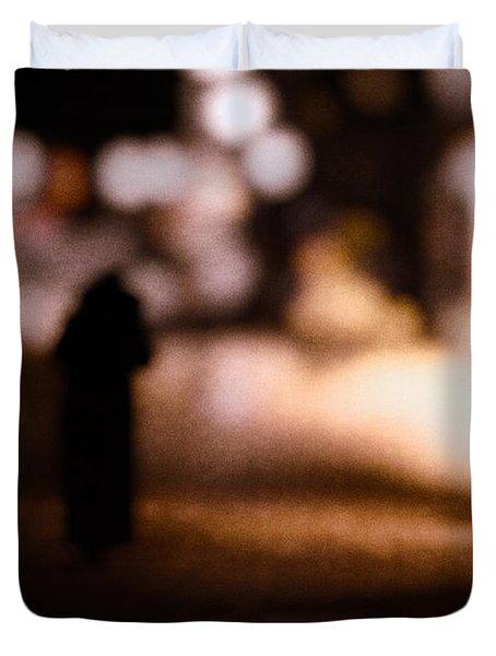 City Nights Duvet Cover by Bob Orsillo