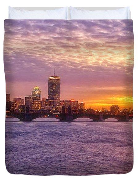 City Nights Duvet Cover by Joann Vitali