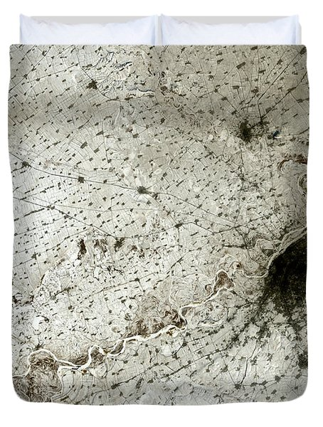 City Of Harbin Mandchouria China Duvet Cover by Anonymous