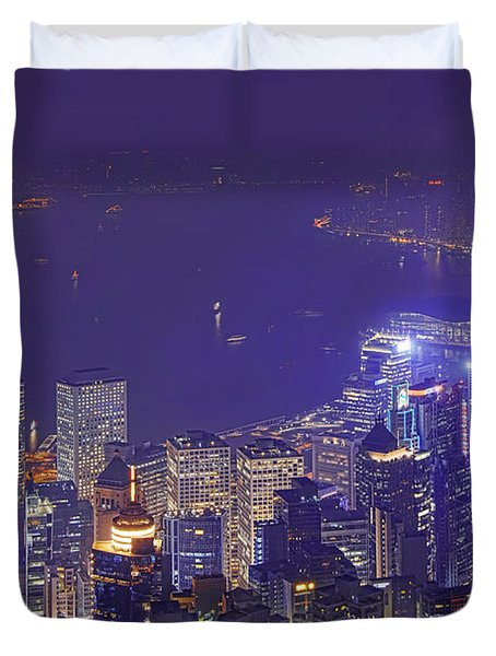City Of Magic Duvet Cover by Midori Chan