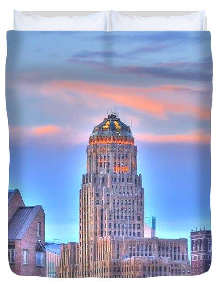 Cityscape Duvet Cover by Kathleen Struckle