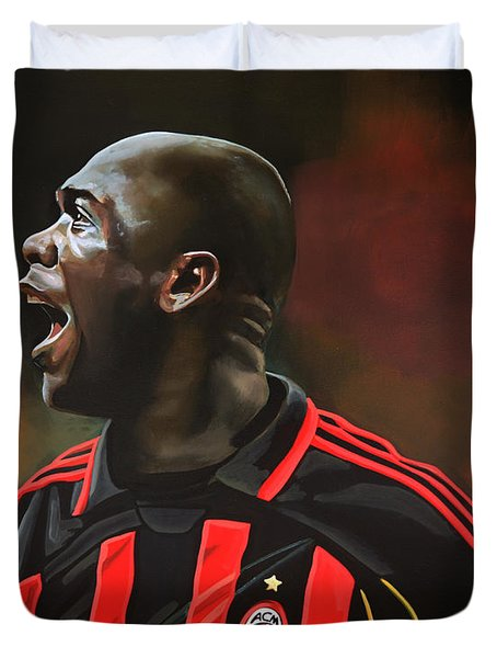 Clarence Seedorf Duvet Cover by Paul  Meijering
