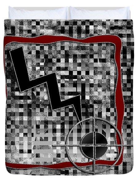 Clarity Digital Painting Duvet Cover by Georgeta Blanaru