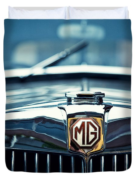 Classic Marque Duvet Cover by Dave Bowman