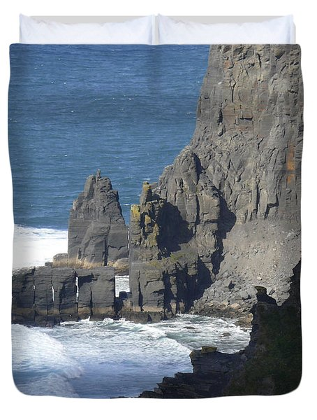Cliffs Of Moher 6 Duvet Cover by Mike McGlothlen