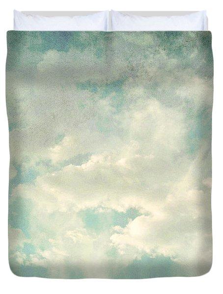 Cloud Series 1 of 6 Duvet Cover by Brett Pfister