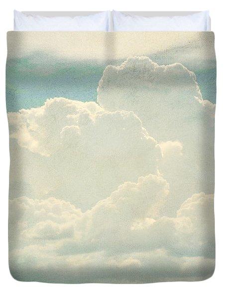 Cloud Series 2 Of 6 Duvet Cover by Brett Pfister