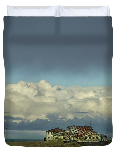 Clouds Of My Mind Duvet Cover by Evelina Kremsdorf