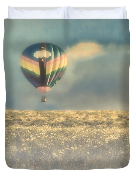 Clouds Within Clouds Duvet Cover by Bob Orsillo