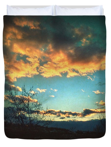 Cloudy Now Duvet Cover by Taylan Soyturk