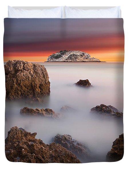 Coastal Glory Duvet Cover by Jorge Maia