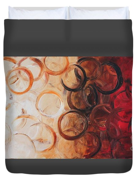 Cold Fusion Duvet Cover by Preethi Mathialagan