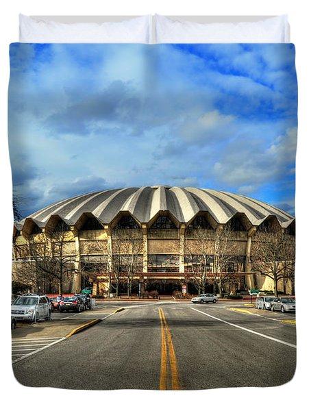 Coliseum Daylight Duvet Cover by Dan Friend